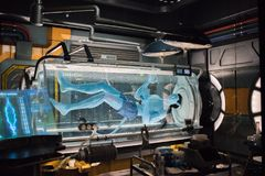 Pandora – The World of Avatar at the Animal Kingdom at Walt Disney World royalty free stock photos