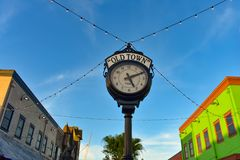 Top view of vintage watch european style at Kissimmee Old Town in 192 Highway area 1 stock photography