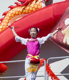 ORLANDO-Florida 9. Februar 2014 - Dragon Parade Lunar New Year F.E. Stockfoto