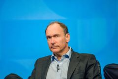 Inventor and founder of World Wide Web Sir Tim Berners-Lee Royalty Free Stock Image