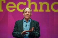 Inventor and founder of World Wide Web Sir Tim Berners-Lee Stock Photography