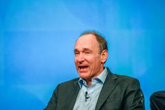 Inventor and founder of World Wide Web Sir Tim Berners-Lee Royalty Free Stock Photography