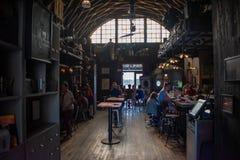 Inside of vintage bar in Disney Springs at Lake Buena Vista