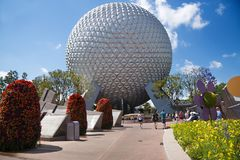 Epcot Center, theme park, Disneyland, Orlando, Florida, USA stock photos