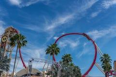 ORLANDO, FLORIDA - MAY 06, 2015: Attractions in Universal Orlando, Florida. Royalty Free Stock Image