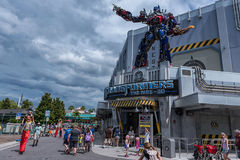 ORLANDO, FLORIDA - MAY 06, 2015: Attractions in Universal Orlando, Florida. Attractions in Universal Orlando, Florida Royalty Free Stock Photography