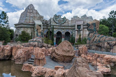 ORLANDO, FLORIDA - MAY 06, 2015: Attractions in Universal Orlando, Florida. Attractions in Universal Orlando, Florida Royalty Free Stock Image