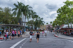 ORLANDO, FLORIDA - MAY 06, 2015: Attractions in Universal Orlando, Florida. Attractions in Universal Orlando, Florida Stock Images