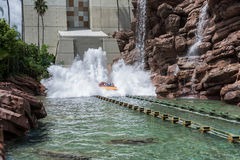 ORLANDO, FLORIDA - MAY 06, 2015: Water Attractions in Universal Orlando, Florida. Water Attractions in Universal Orlando, Florida Royalty Free Stock Image