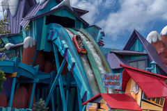 ORLANDO, FLORIDA - MAY 05, 2015: Water Attractions in Universal Orlando, Florida. Water Attractions in Universal Orlando, Florida Stock Photo