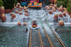 ORLANDO, FLORIDA - MAY 05, 2015: Water Attractions in Universal Orlando, Florida. Water Attractions in Universal Orlando, Florida Royalty Free Stock Photo