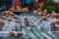 ORLANDO, FLORIDA - MAY 05, 2015: Water Attractions in Universal Orlando, Florida. Water Attractions in Universal Orlando, Florida Royalty Free Stock Image