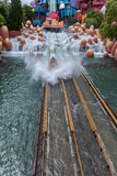 ORLANDO, FLORIDA - MAY 05, 2015: Water Attractions in Universal Orlando, Florida. Water Attractions in Universal Orlando, Florida Stock Photos