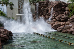 ORLANDO, FLORIDA - MAY 06, 2015: Water Attractions in Universal Orlando, Florida. Water Attractions in Universal Orlando, Florida Stock Photography