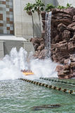 ORLANDO, FLORIDA - MAY 06, 2015: Water Attractions in Universal Orlando, Florida. Water Attractions in Universal Orlando, Florida Stock Photo