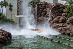 ORLANDO, FLORIDA - MAY 06, 2015: Water Attractions in Universal Orlando, Florida. Stock Photo