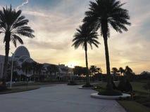 Orlando Florida Nov 25th - Sidewalk to the Orange County Convention Center photo image royalty free stock images