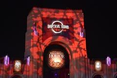 Universal Studios Horror Nights in Halloween Season. royalty free stock image