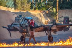 Characters performing in Indiana Jones Epic Stunt Spectacular at Hollywood Studios 55