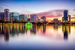 Orlando Florida Skyline Imagen de archivo