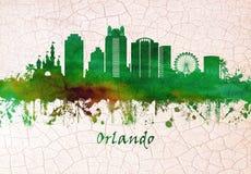 Orlando Florida Skyline vektor illustrationer