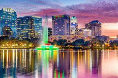 Orlando, Florida Skyline Stock Photography