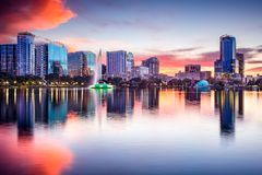Orlando Florida Skyline Royalty Free Stock Image