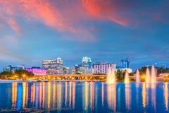 Orlando, Florida, USA Skyline Royalty Free Stock Image