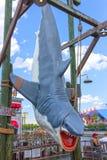 Orlando, Florida, USA - May 10, 2018: the jaws of a shark at park Universal Studios. Orlando is a theme park resort in. Orlando, Florida, USA - May 10, 2018: the Royalty Free Stock Photos