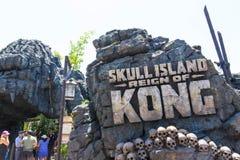 Orlando, Florida, USA - May 09, 2018: Universal. Islands of Adventure. King of Kong. Ride. Orlando, Florida, USA - May 09, 2018: Universal. Islands of Adventure Royalty Free Stock Photography