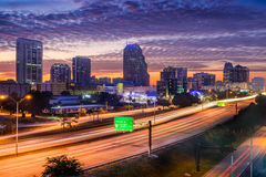 Orlando Florida USA skyline Royalty Free Stock Photo