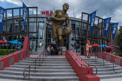 ORLANDO FLORYDA, MAJ, - 06, 2015: NBA Wszystkie gwiazdy muzeum i restauracja w Ogólnoludzkim Orlando, Floryda Zdjęcie Stock