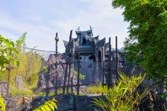 Orlando, Floryda, usa - Maj 09, 2018: Cecha ogólna Wyspy przygoda Królewiątko Kong przejażdżka Zdjęcie Royalty Free