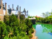 Orlando, Floryda, usa - Maj 09, 2018: Ogólnoludzki Hogwarts świat w universal studio w Orlando, Floryda, usa Obrazy Stock