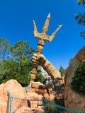 Orlando, Floryda, usa - Maj 09, 2018: Poseidon wściekłość Wyspy przygoda universal Zdjęcia Stock