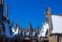 Orlando, Floryda, usa - Maj 09, 2018: Wizarding świat Harry Poter Zdjęcie Royalty Free