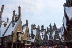 Orlando, Floryda, usa - Maj 09, 2018: Wizarding świat Harry Poter Fotografia Stock