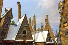 Orlando, Floryda, usa - Maj 09, 2018: Wizarding świat Harry Poter Obrazy Stock