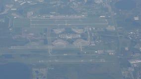 Orlando-Flughafen von oben stock video