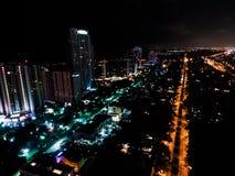 Orlando gatahemligheter - på nätterna Royaltyfria Foton