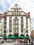 Orlando-Haus in Munich Stock Photo