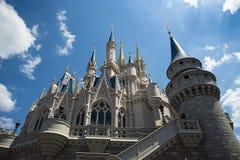 Orlando, image du château au monde de Disney images libres de droits