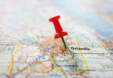 Orlando-Karte stockfotografie
