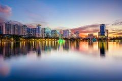 Orlando linia horyzontu Zdjęcie Stock