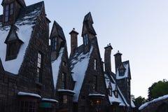 Orlando, los E.E.U.U. - 22 de junio de 2016 - el mundo de Wizarding de Harry Potter - castillo - estudios universales la Florida Imagenes de archivo