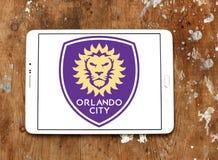 Orlando miasta piłki nożnej klubu logo Obrazy Royalty Free