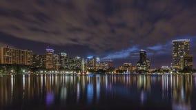 Orlando na noite Imagens de Stock