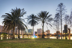 Orlando nachts Lizenzfreie Stockbilder