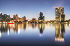 Orlando nachts Lizenzfreies Stockbild