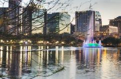 Orlando nachts Stockbilder